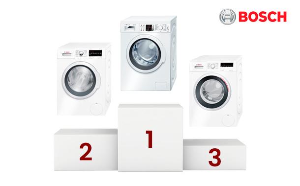 Las lavadoras Bosch más vendidas