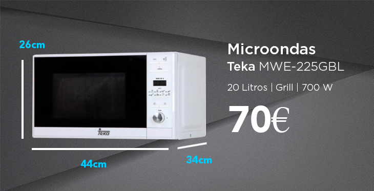 Medidas de microondas estándar