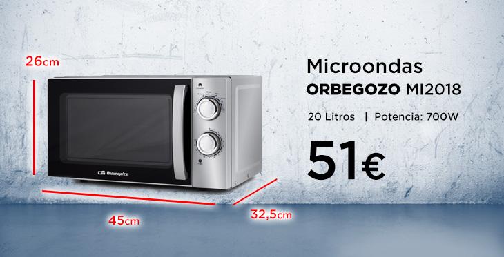 Medidas De Microondas Estándar Blog De Electrodomésticos