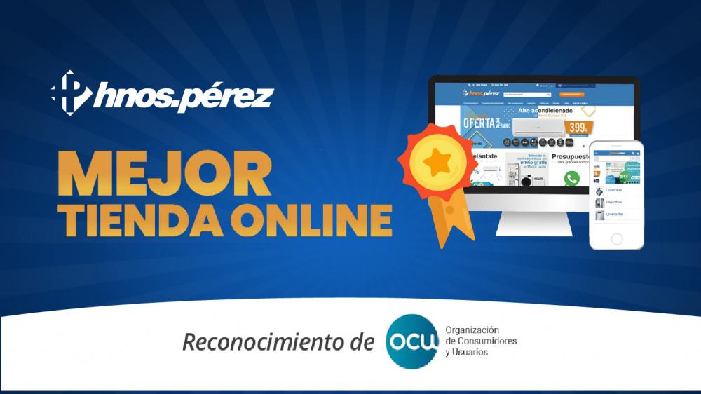 Somos la mejor tienda online de electrodomésticos según estudio de la OCU