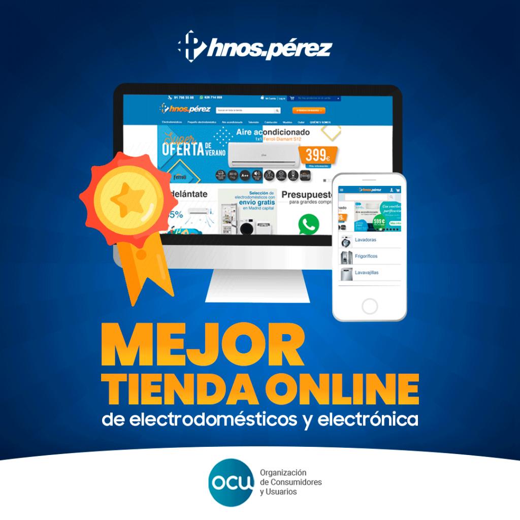 Hnos. Pérez la mejor tienda online de electrodomésticos