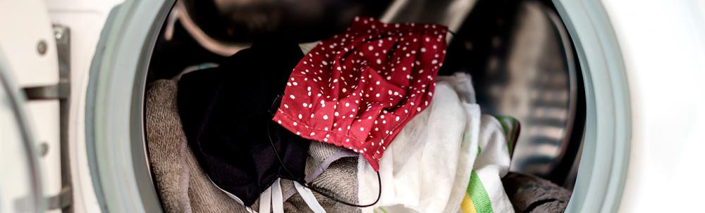¿Cómo lavar las mascarillas de tela?