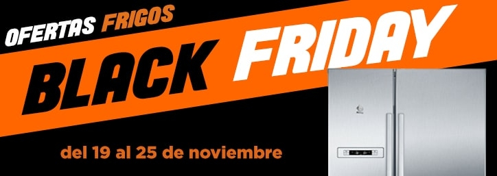 Black Friday Frigoríficos