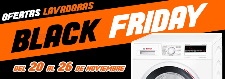 Black Friday Lavadoras