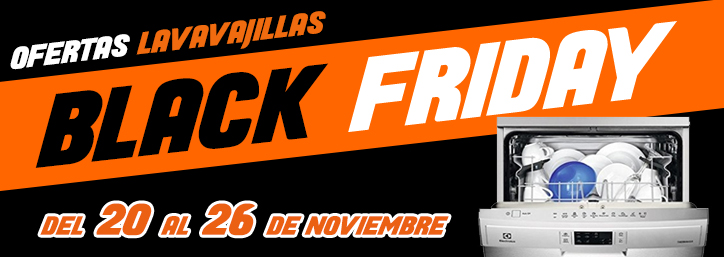 Black Friday Lavavajillas