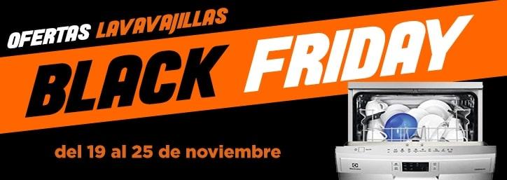 Black Friday Lavavajillas