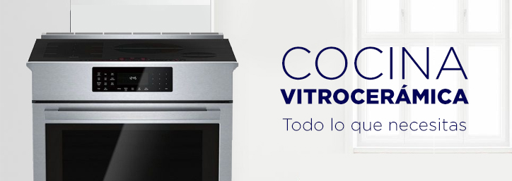 Cocina vitrocerámica