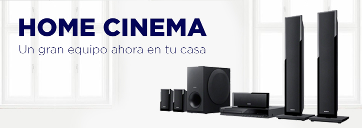 Home cinema y barras de sonido