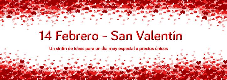 Regalos para San Valentín - para él, para ella, para compartir