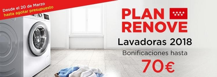 Plan Renove Lavadoras