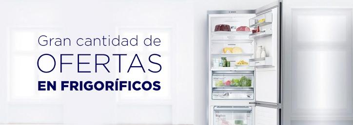 Ofertas en frigoríficos