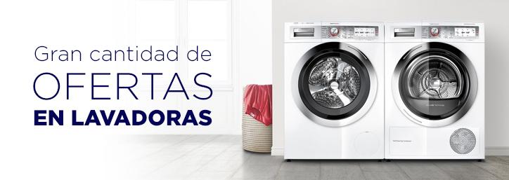 Ofertas en lavadoras