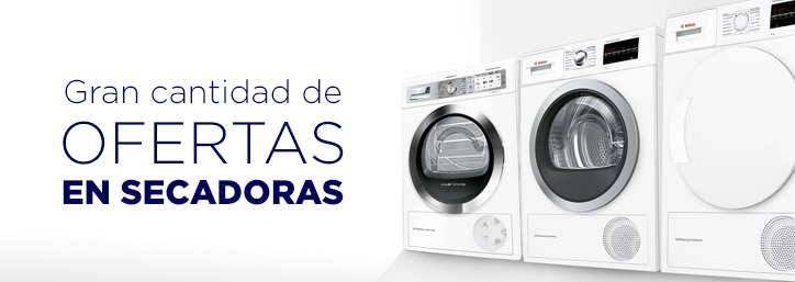Ofertas en secadoras