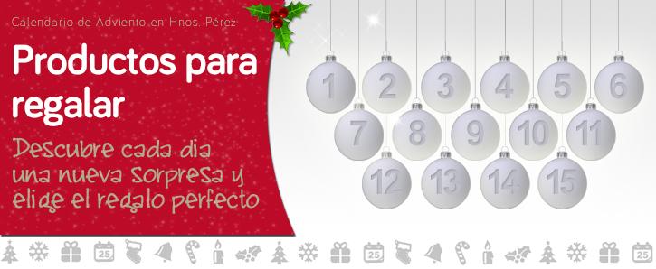 Cada día un regalo - Calendario de Adviento de Hnos. Pérez