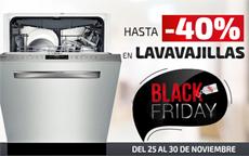 lavavajillas black friday