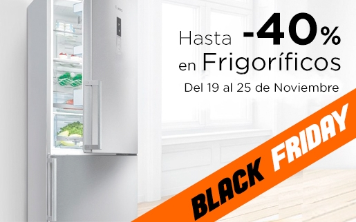 Ofertas frigoríficos black friday 2018