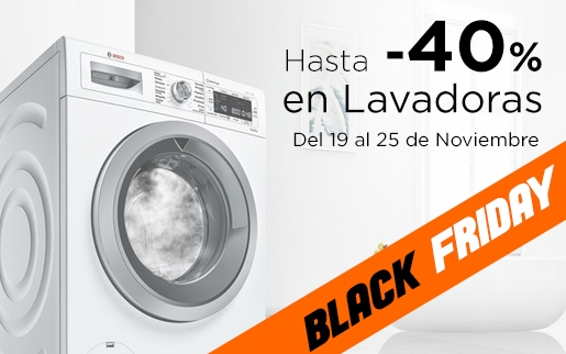 Ofertas en lavadoras black friday 2018