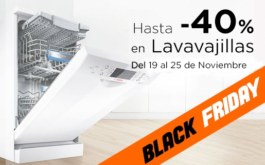 Ofertas en lavavajillas black friday 2018