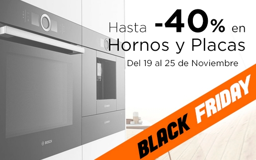 Ofertas en hornos black friday 2018