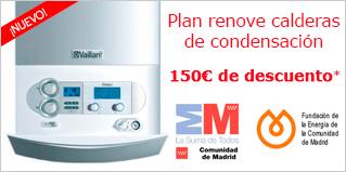 Calderas- Plan Renove de calderas individuales 2014 (C. de Madrid)