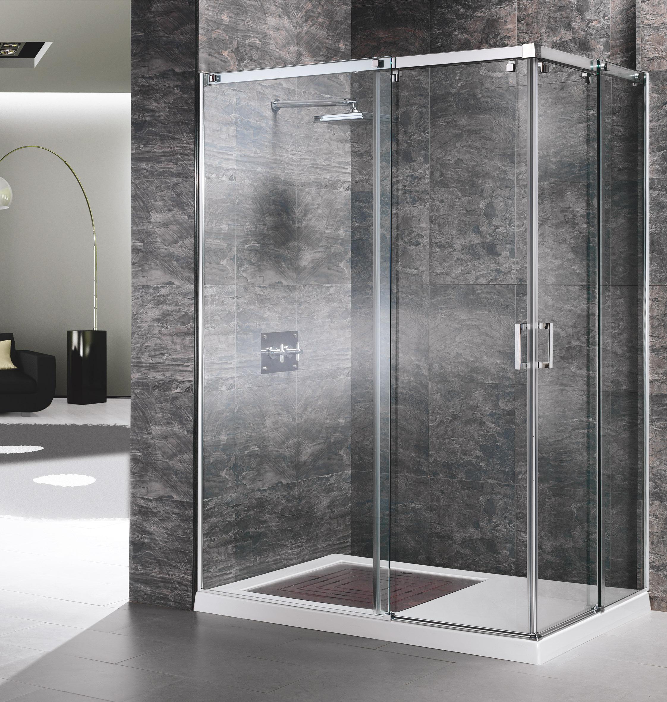 Mamparas angulares muebles de cocina y ba o online en for Mamparas de ducha economicas