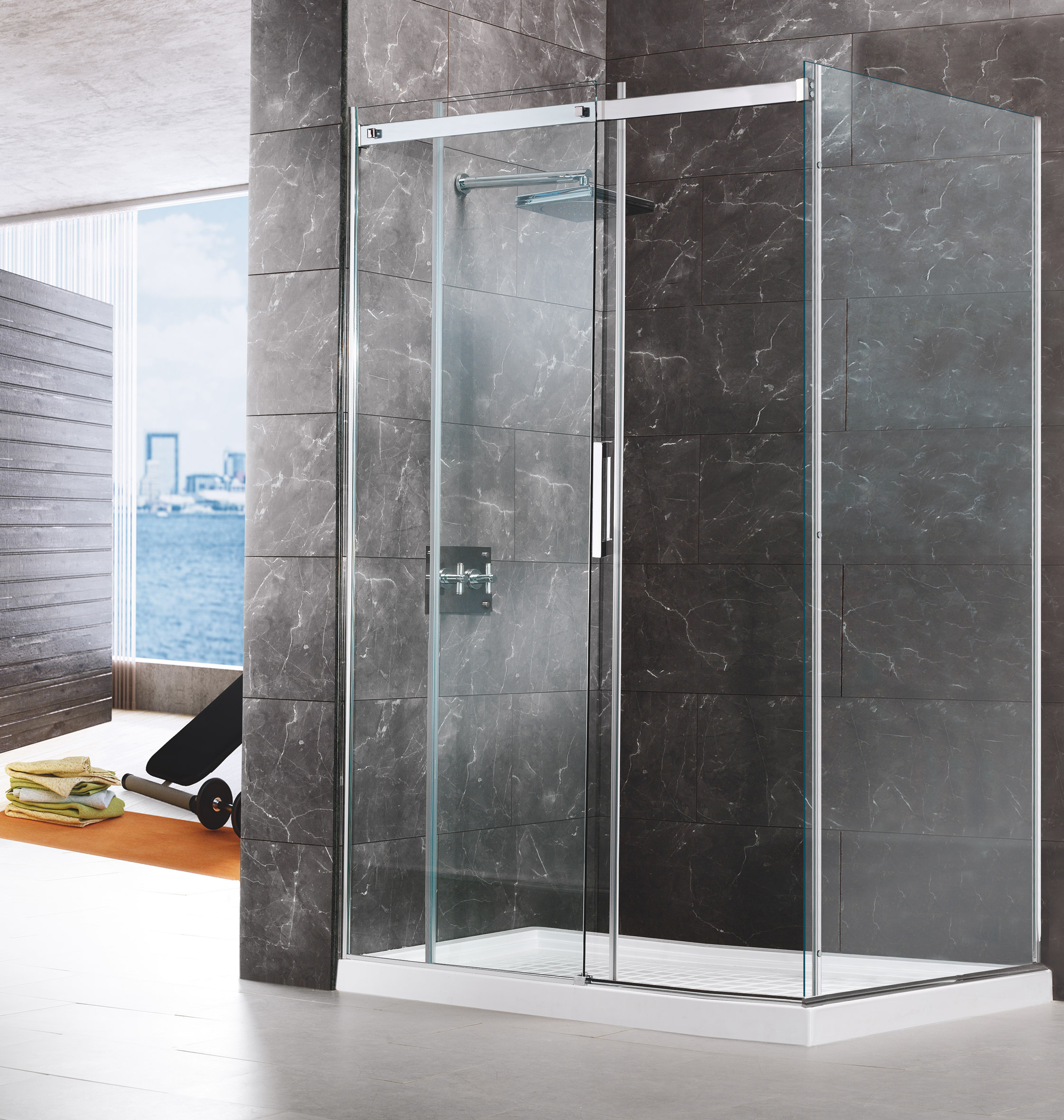 Mamparas de ducha madrid beautiful aluminios alcorcon for Puertas ratoncito perez baratas
