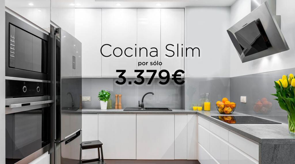 Muebles de cocina baratos en Madrid