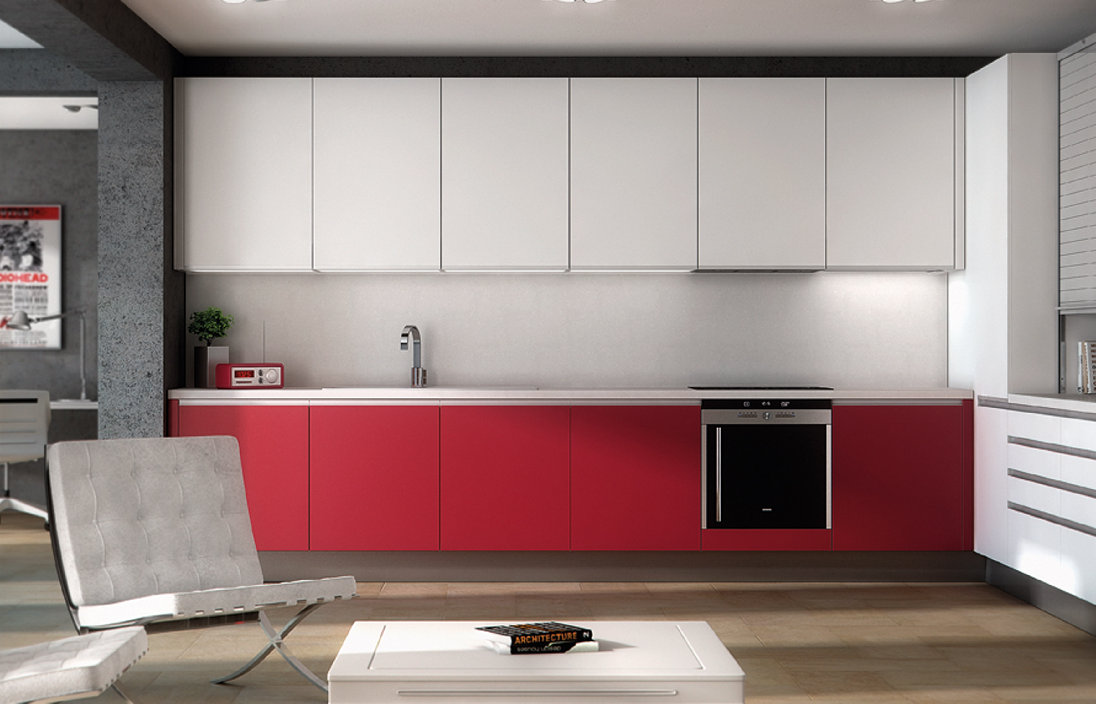 Modelo cinco muebles de cocina y ba o online en madrid for Muebles de cocina online