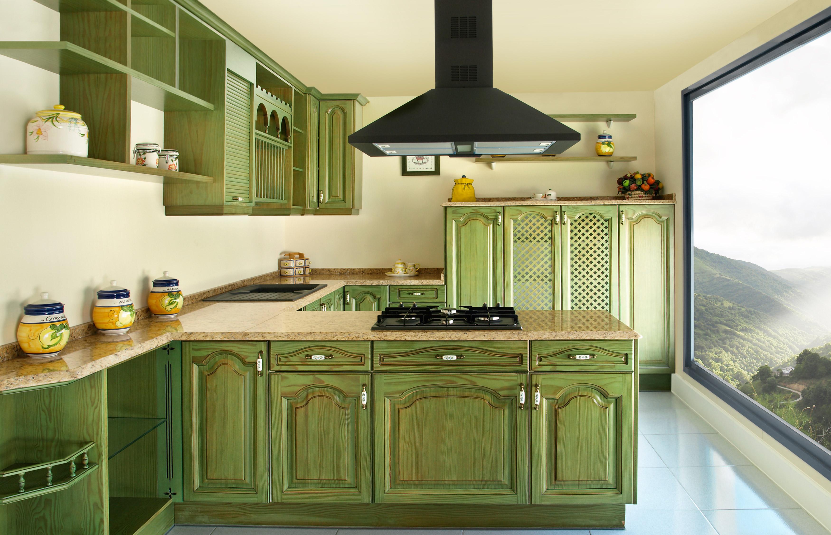 Cocinas r sticas muebles hermanos p rez for Muebles de cocinas rusticas